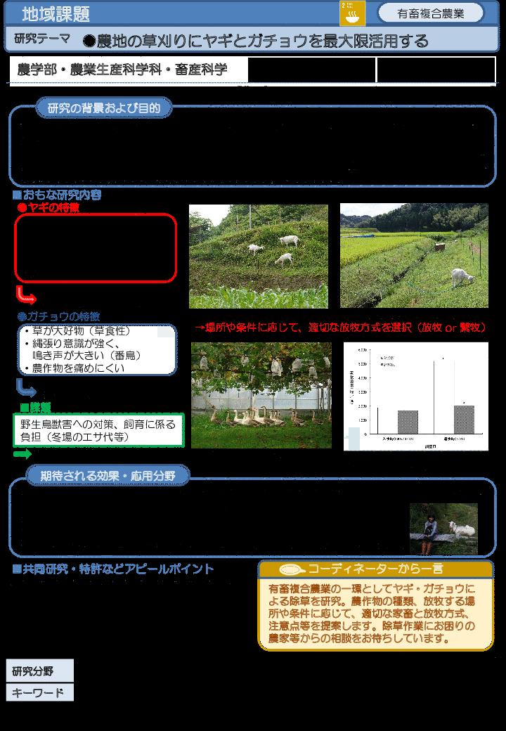 農地の草刈りにヤギとガチョウを最大限活用する