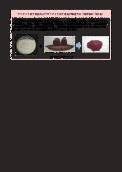 サツマイモ加工食品およびサツマイモ加工食品の製造方法