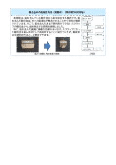 銅合金中の鉛除去方法(黄銅中)